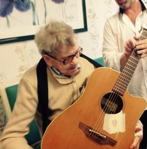la guitare et Jeanne